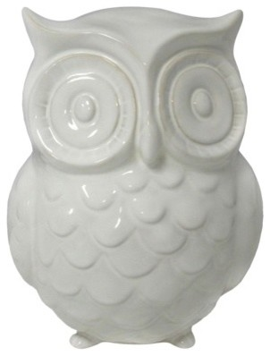 Garden Place Owl Statue - contemporary - garden sculptures - by Target