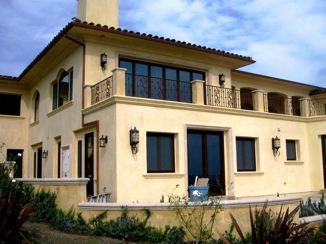 Custom Windows And Doors Mediterranean Exterior