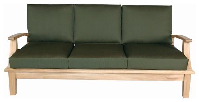 Brianna Deep Seating Sofa + Cushion modern-outdoor-sofas