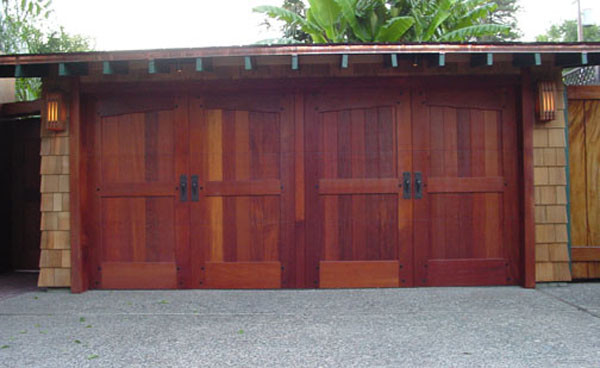 Wooden garage doors contemporary garage doors and for Cedar wood garage doors price