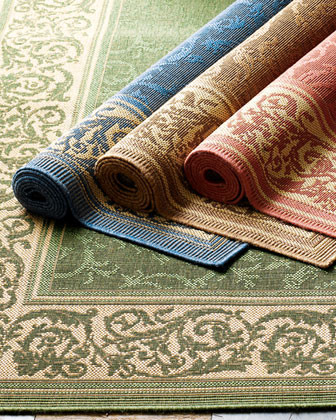 Entwined Vine Rug traditional-rugs