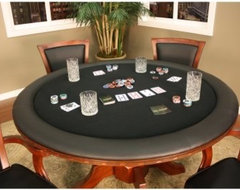 Avalon Chestnut Game Table modern-dining-tables