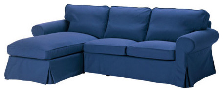 EKTORP Loveseat and chaise lounge modern sectional sofas