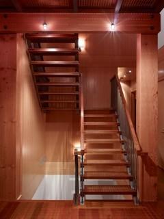 Whistler Custom Homes contemporary-staircase