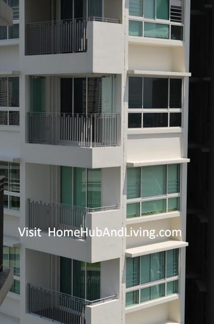 Singapore hdb amk dbss frameless doors balcony glass for Hdb balcony design