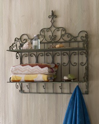 Towel Shelf  traditional-bath-products