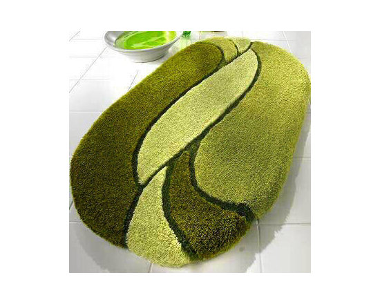 Sinfonie Luxury Bathroom Rugs from Vita Futura - Our Sinfonie luxury bath rugs feature a very plush, beautifully sculpted high pile of 30mm / 1.18in.