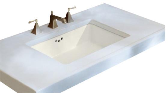 KOHLER K-2297-0 Kathryn Undermount Bathroom Sink - Contemporary - Bathroom Sinks - by PlumbingDepot