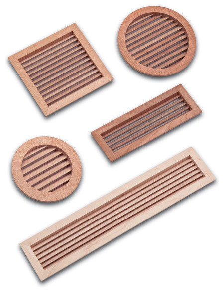 Wood Air Vent Grilles - LWAVG - Traditional - Registers Grilles And ...