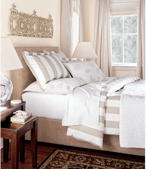 PB classic stripe sham traditional shams