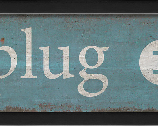 The Artwork Factory - 'Unplug' Print - Ready-to-Hang, 100% Made in the USA, museum quality framed artwork