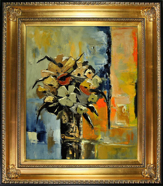 Ledent - Still Life 562111 Oil Painting contemporary-prints-and-posters