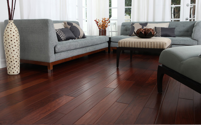 Santos-Mahogany modern wood flooring