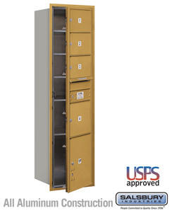 4C Horizontal Mailbox - Maximum Height Unit (56 3/4 Inches) - Single Column modern-mailboxes