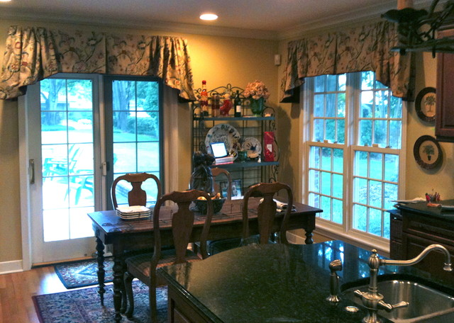French Country Mediterranean Window Treatments By