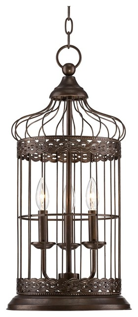 "Rustic - Lodge Franklin Iron Works™ Byzantine Dome 11""w Pendant traditional-pendant-lighting"