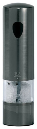 Peugeot Elis Graphite Electric Salt Mill contemporary-salt-and-pepper-shakers-and-mills
