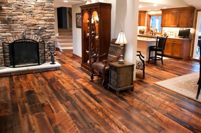 Reclaimed Barn Wood Flooring Old Dirty Top Rustic
