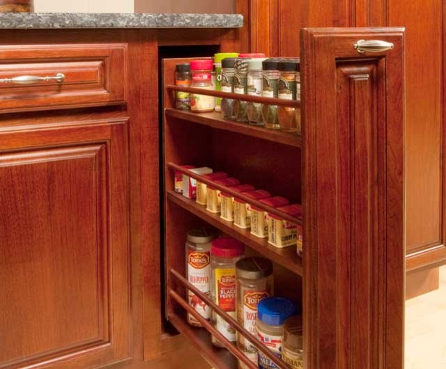 KITCHEN CABINET PULL-OU SPICE RACK - baltimore - by GRANDIOR KITCHEN & BATH