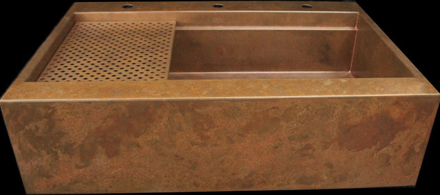 Rachiele custom signature series top mount retrofit copper for Rachiele sink complaints