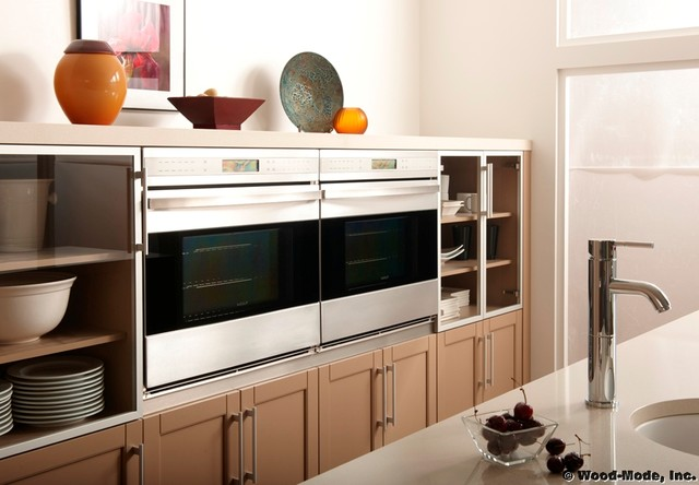 Wood-Mode Cabinetry - Contemporary - Kitchen Cabinetry - other metro ...