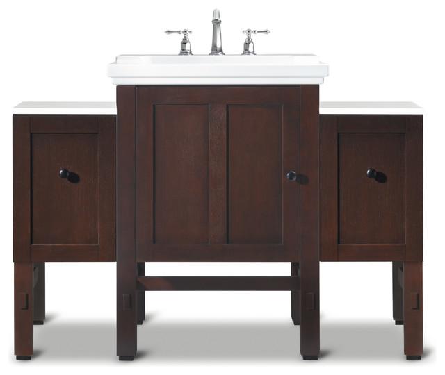 Bathroom Designs Farmhouse Bathroom Vanities And Sink