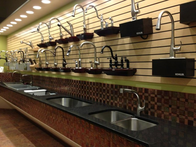 Showroom kitchen-faucets