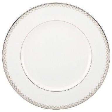 Lenox Quatrefoil Dinner Plate modern-dinner-plates
