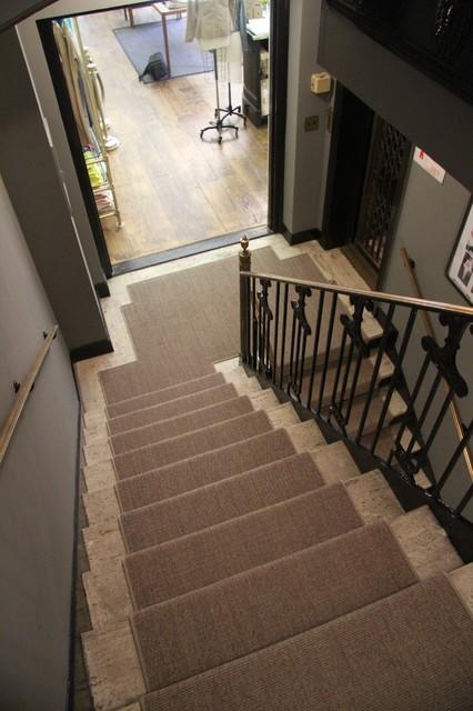 Sisal Stair Runner traditional-staircase