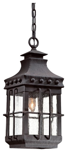 """Dover Collection 19 1/2"""" High Outdoor Hanging Light traditional-outdoor-hanging-lights"""