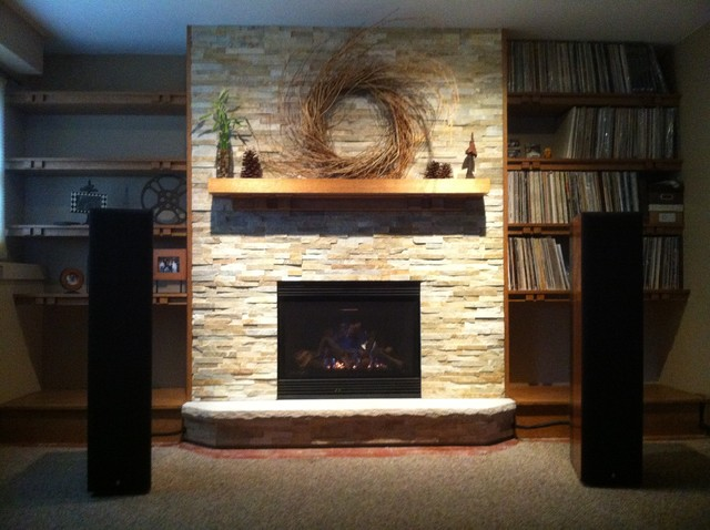 Before & After traditional-indoor-fireplaces