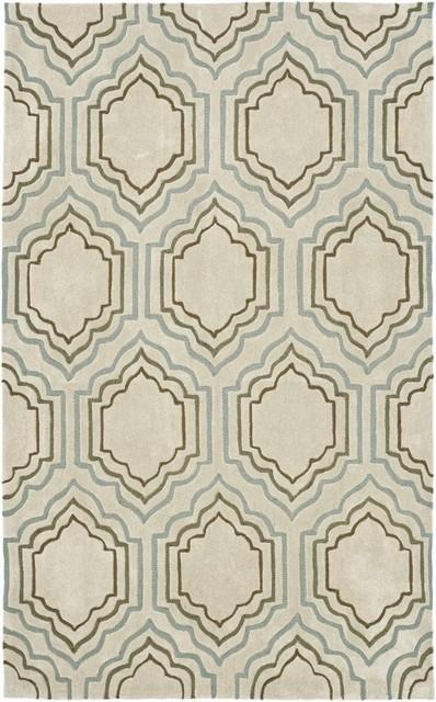 Safavieh Modern Art MDA626A Beige - Multi Area Rug modern-carpet-tiles