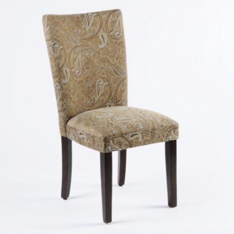 Paisley Parsons Chair traditional-living-room-chairs