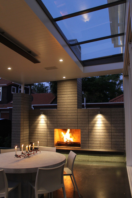 New house in Epsom, Auckland contemporary-patio