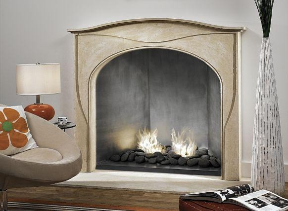 The Velay Mantel - Francois & Co. fireplaces
