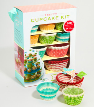 Pretty Cupcake Kit contemporary cookware and bakeware