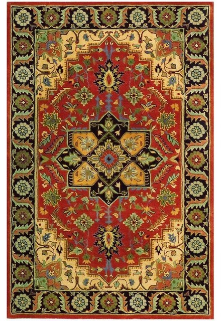 Normandie area rug traditional rugs by home for International decor rugs