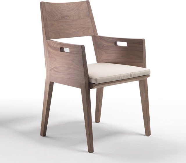 flexform betty dining chair with arms modern dining chairs by