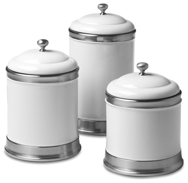 Williams Ceramic Canisters Traditional Kitchen