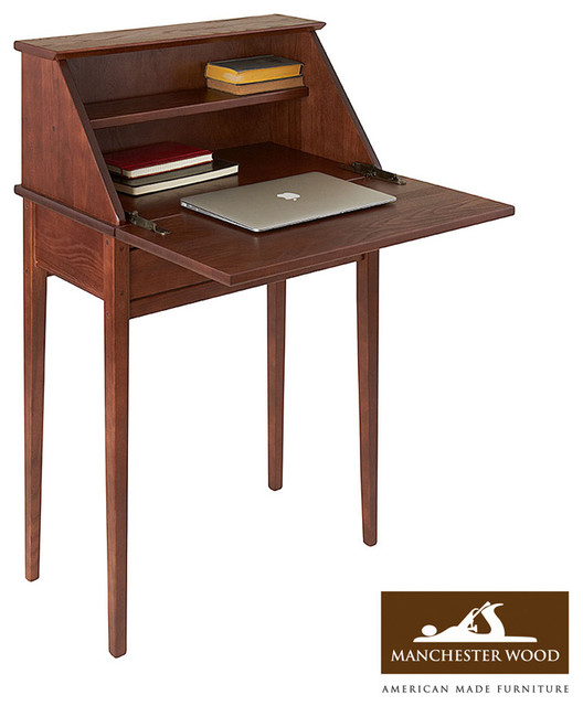 Shaker Secretary Desk by Manchester Wood traditional-desks-and-hutches
