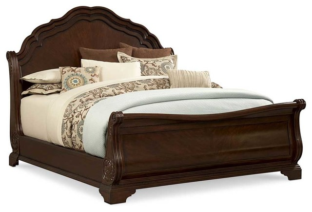 devonshire queen sleigh bed bedroom furniture sets by