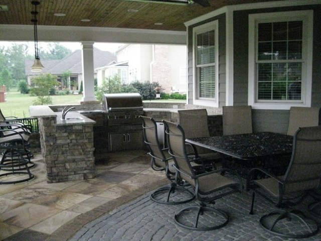 Contemporary Outdoor Kitchens