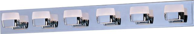 Ellipse 6-Light Bath Vanity modern-bathroom-vanity-lighting