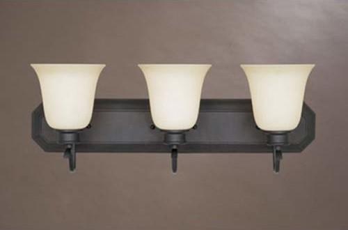 Montego Oil Rubbed Bronze Three-Light Bath Fixture traditional-bathroom-vanity-lighting