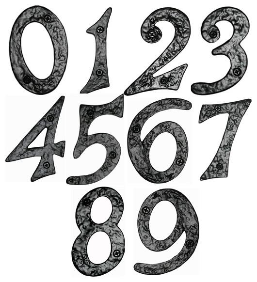 Spanish style wrought iron cabinet hardware forged wrought for Spanish style house numbers