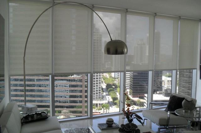 Modern Roller Blinds Designs : Kolor shades and windows design contemporary roller
