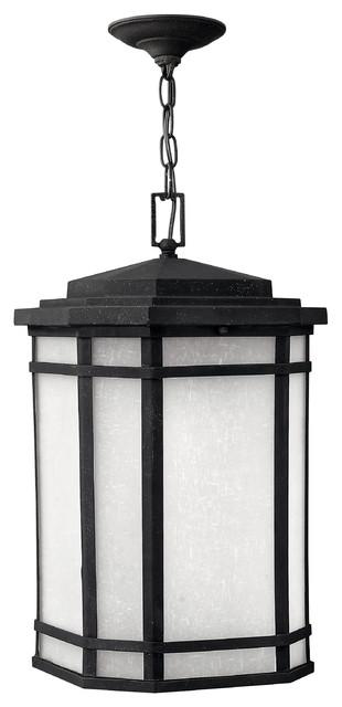 Hinkley Lighting Cherry Creek Hanging Outdoor Lantern - GU24 modern-outdoor-lighting