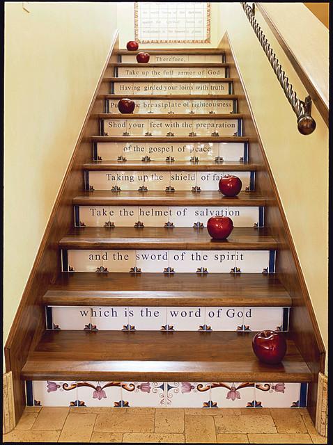 Carson Poetzl, Inc. mediterranean-staircase