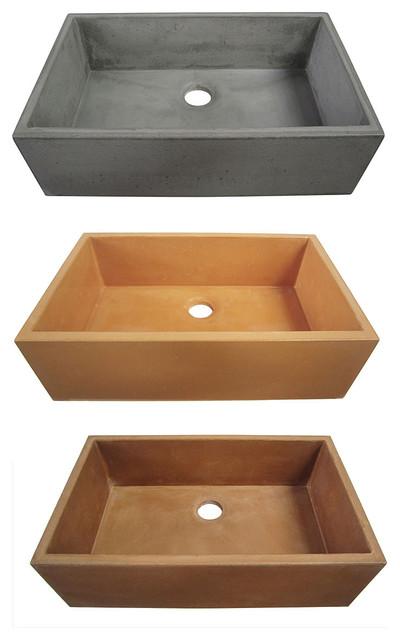 Alfi Concrete Kitchen Sinks - Kitchen Sinks - new york - by ExpressDecor