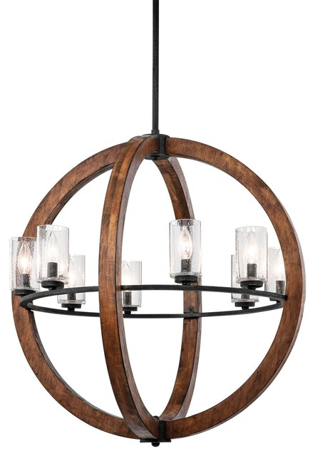 Kichler Lighting Grand Bank Transitional Chandelier X-BUA09134 contemporary-chandeliers